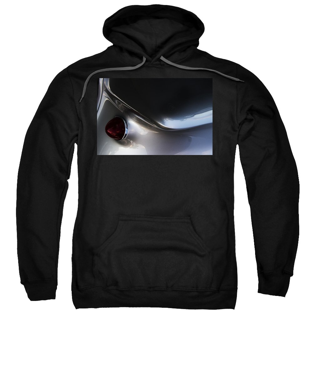 Hot Rod Sweatshirt featuring the photograph Corvair by Guy Shultz