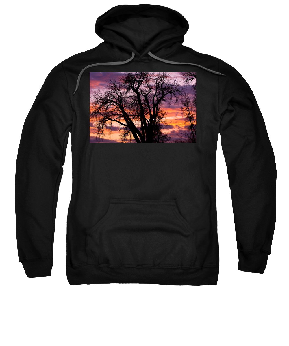 Sunsets Sweatshirt featuring the photograph County Sunset by James BO Insogna