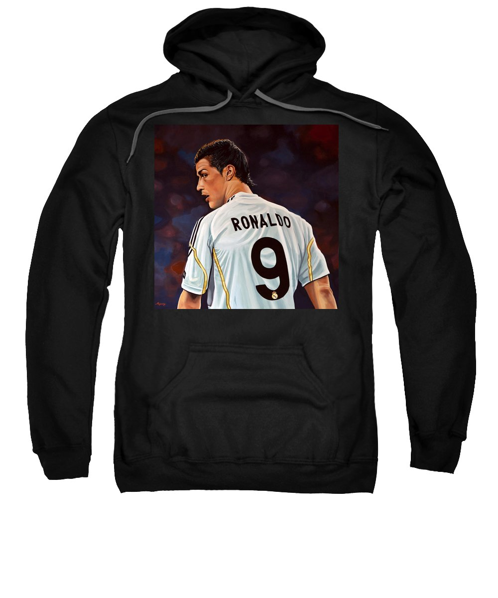 Ronaldo Paintings Hooded Sweatshirts T-Shirts