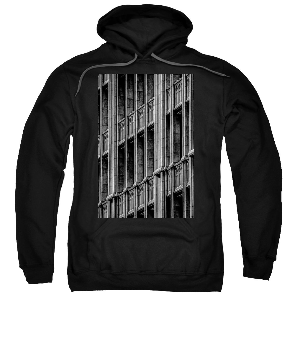Architecture Sweatshirt featuring the photograph Dallas Grunge by David Downs