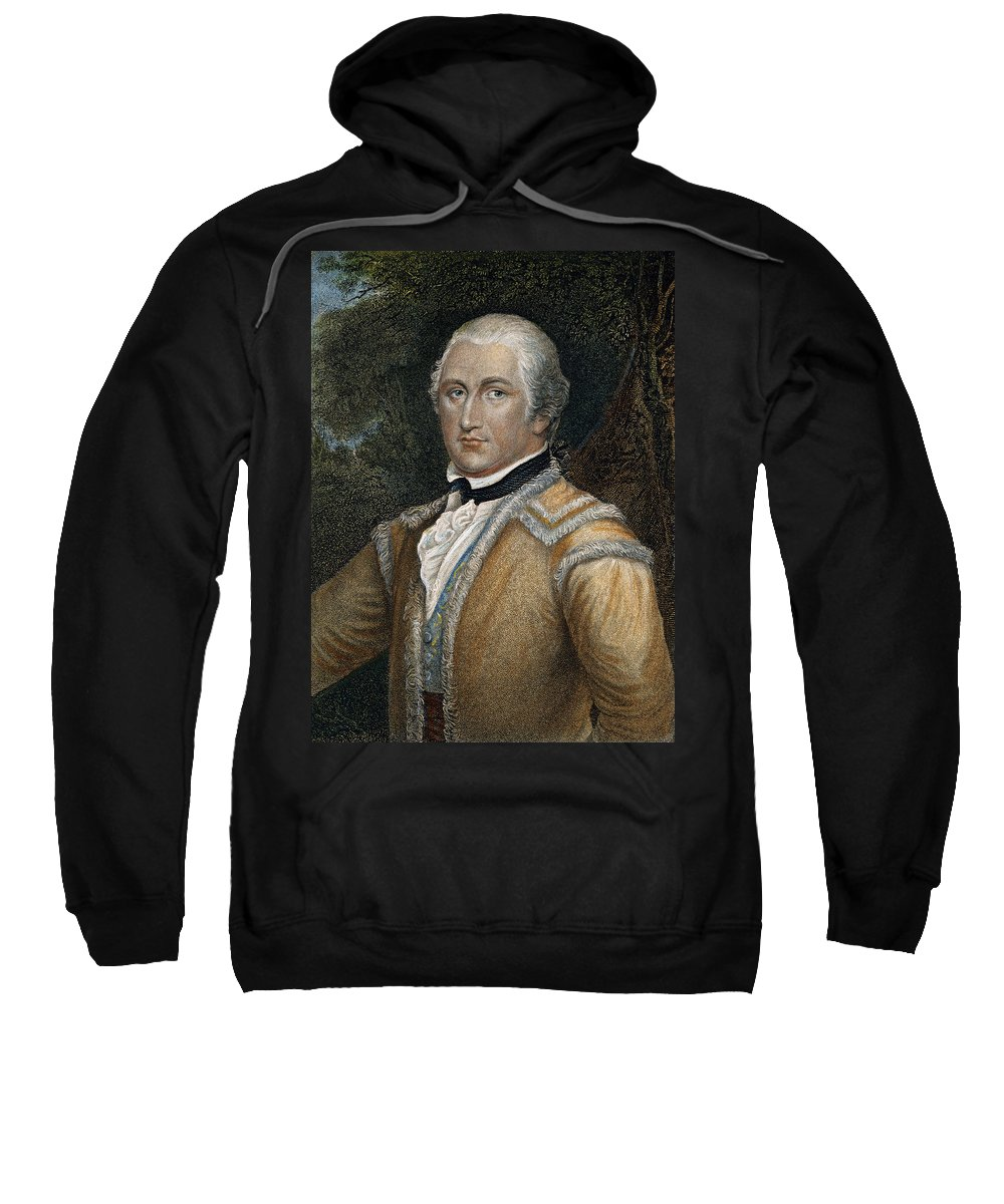 18th Century Sweatshirt featuring the photograph Daniel Morgan (1736-1802) by Granger