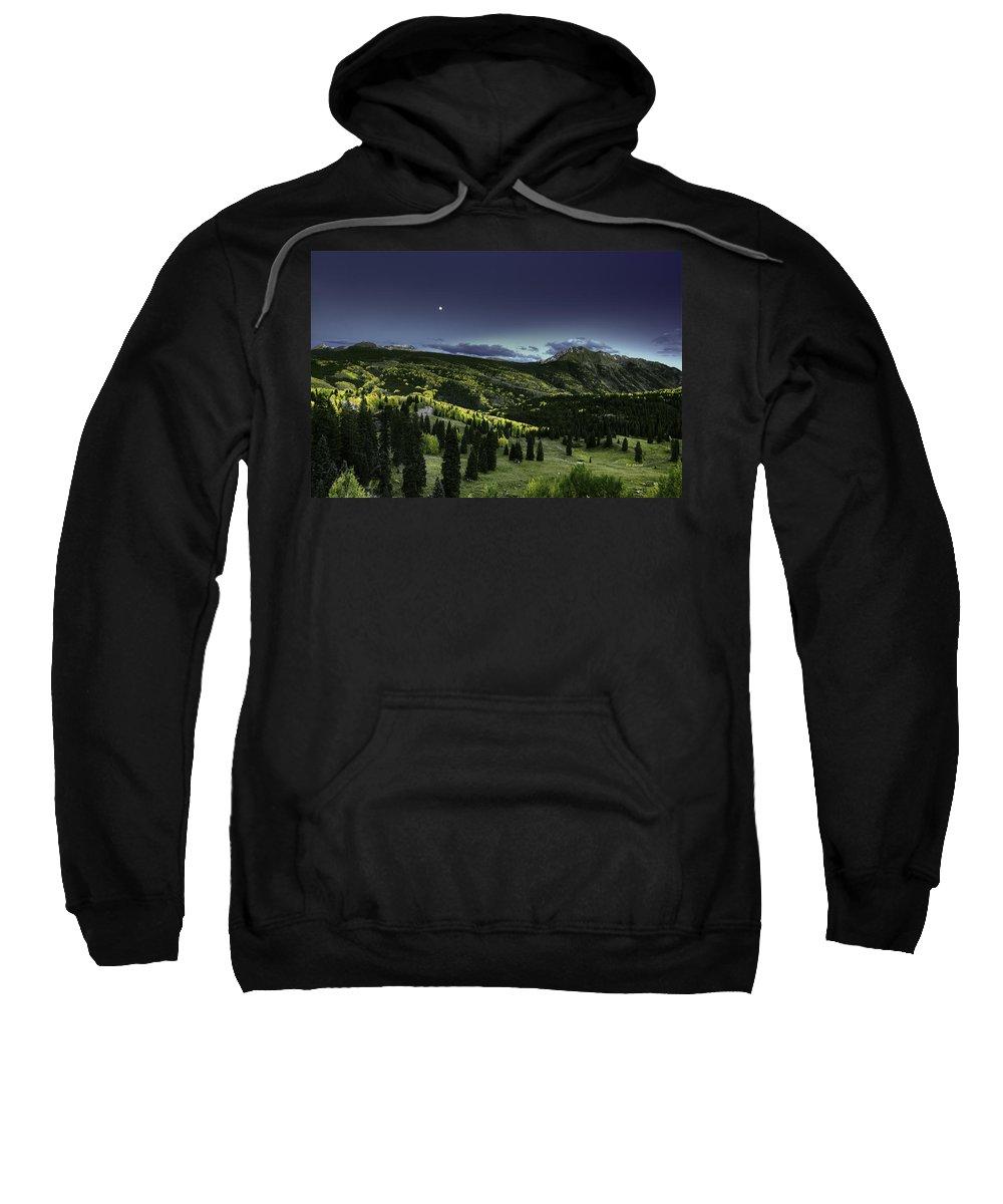 Landscape Sweatshirt featuring the photograph Dark Beauty by Bill Sherrell