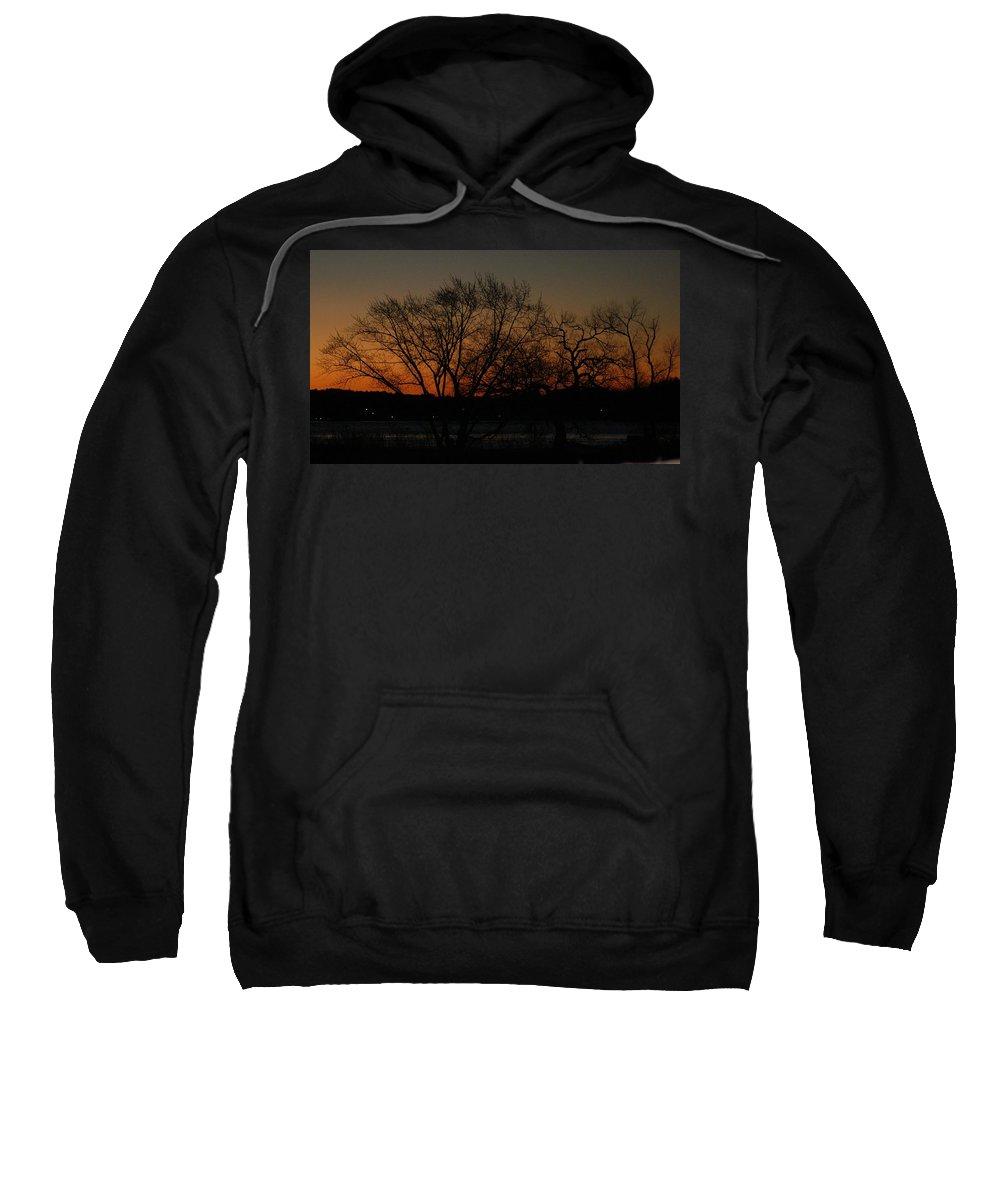 Dawn Sweatshirt featuring the photograph Dawns Early Light by Joe Faherty
