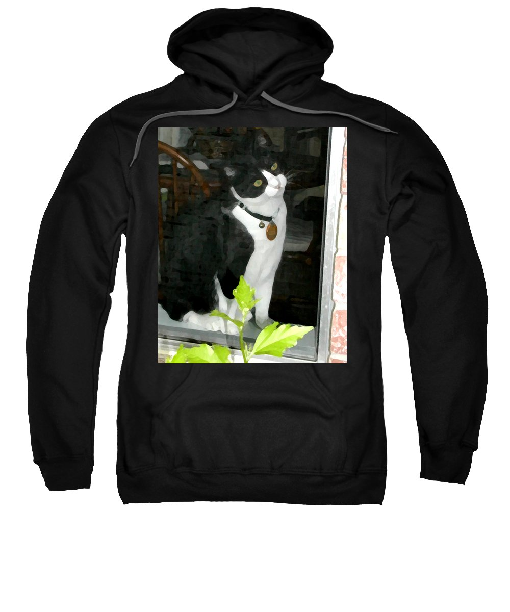 Black And White Sweatshirt featuring the photograph Day For Dreaming by Jeanne A Martin