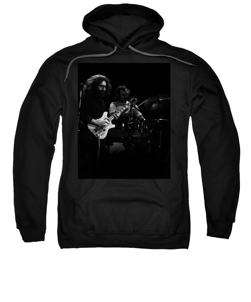 Jerry Garcia Sweatshirt featuring the photograph Dead #19 by Ben Upham