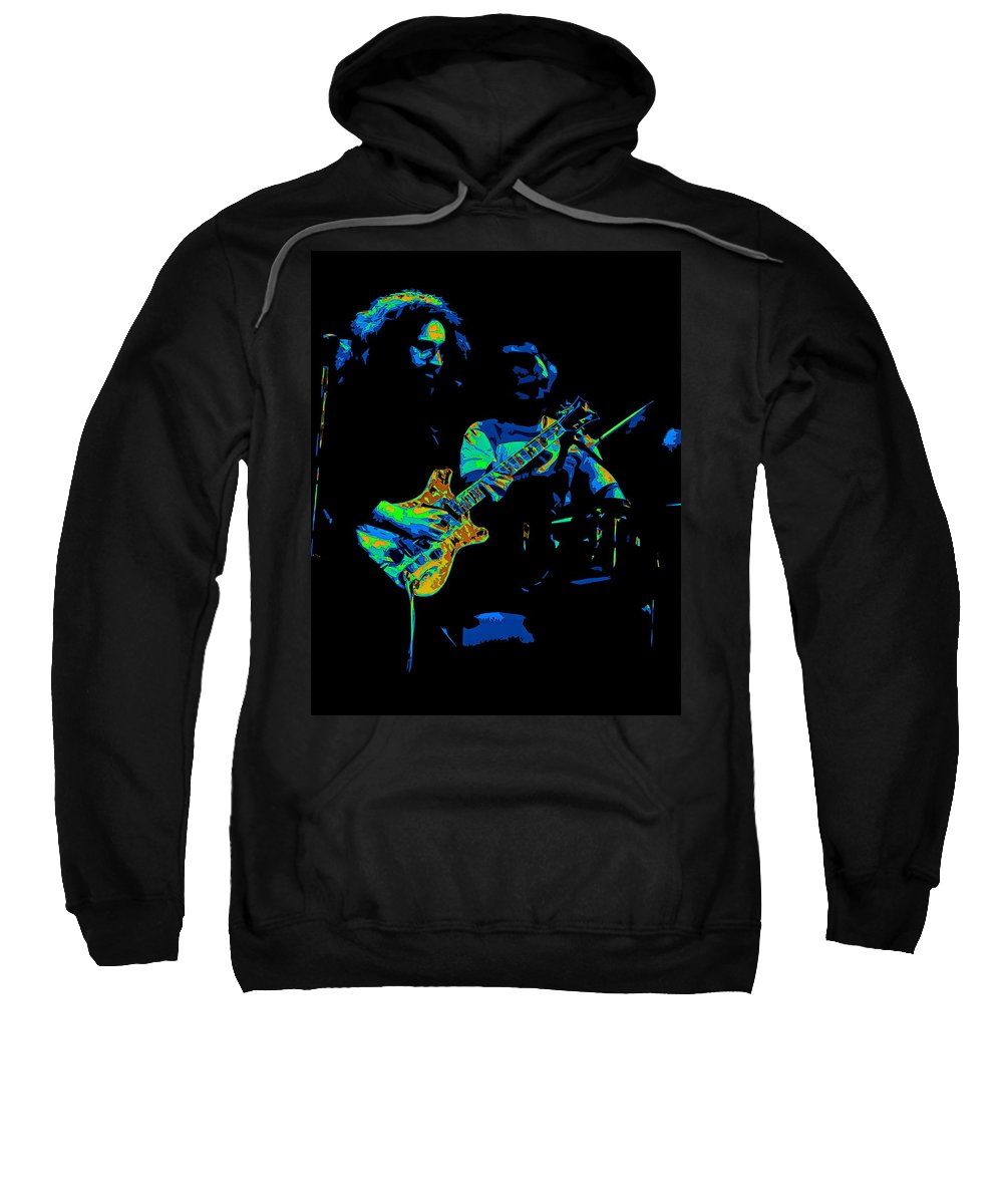 Grateful Dead Sweatshirt featuring the photograph Dead #19 In Cosmic Colors by Ben Upham