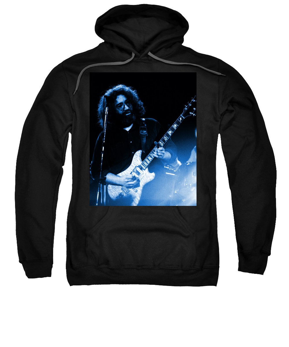 Grateful Dead Sweatshirt featuring the photograph Dead #20 In Blue by Ben Upham