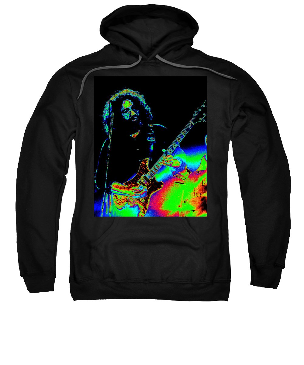 Grateful Dead Sweatshirt featuring the photograph Dead #20 With Cosmic Enhancement 2 by Ben Upham