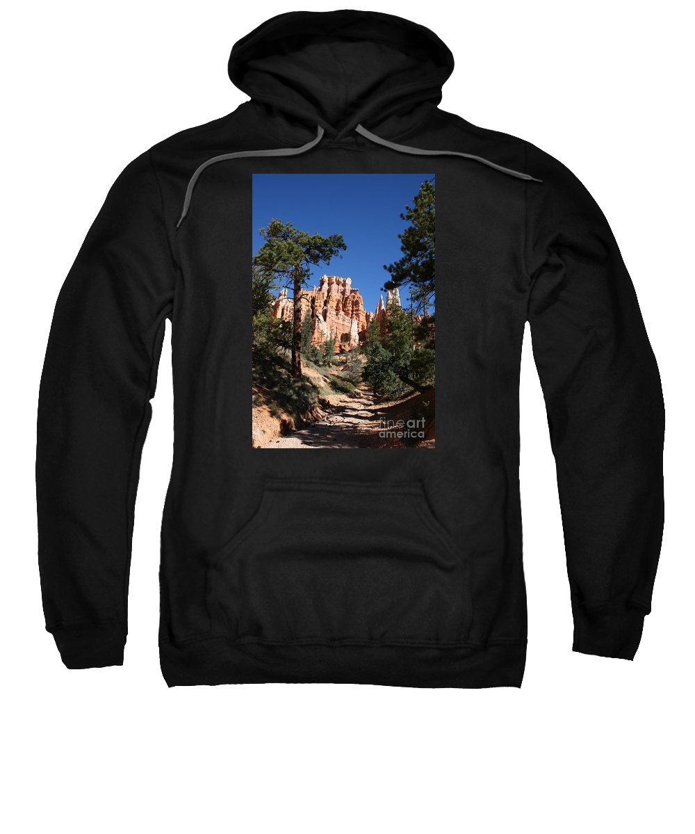 Canyon Sweatshirt featuring the photograph Deep In The Bryce Canyon by Christiane Schulze Art And Photography
