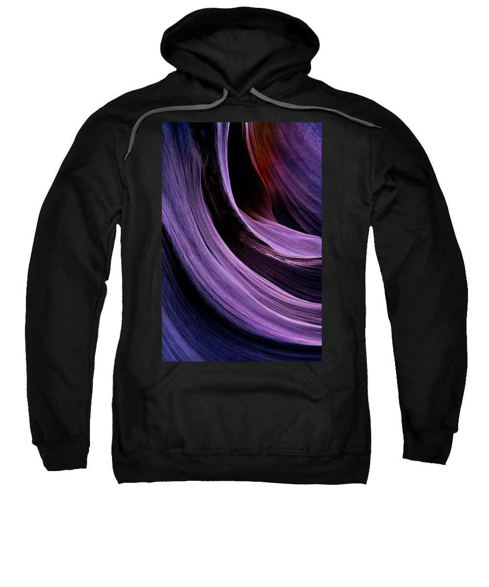Desert Sweatshirt featuring the photograph Desert Eclipse by Mike Dawson