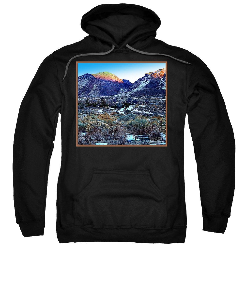 Acrylic Prints Sweatshirt featuring the photograph Desert Life by Bobbee Rickard