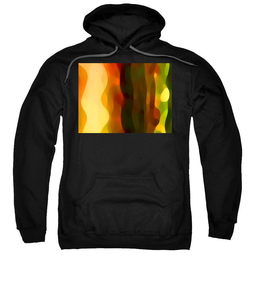Bold Sweatshirt featuring the painting Desert Pattern 1 by Amy Vangsgard