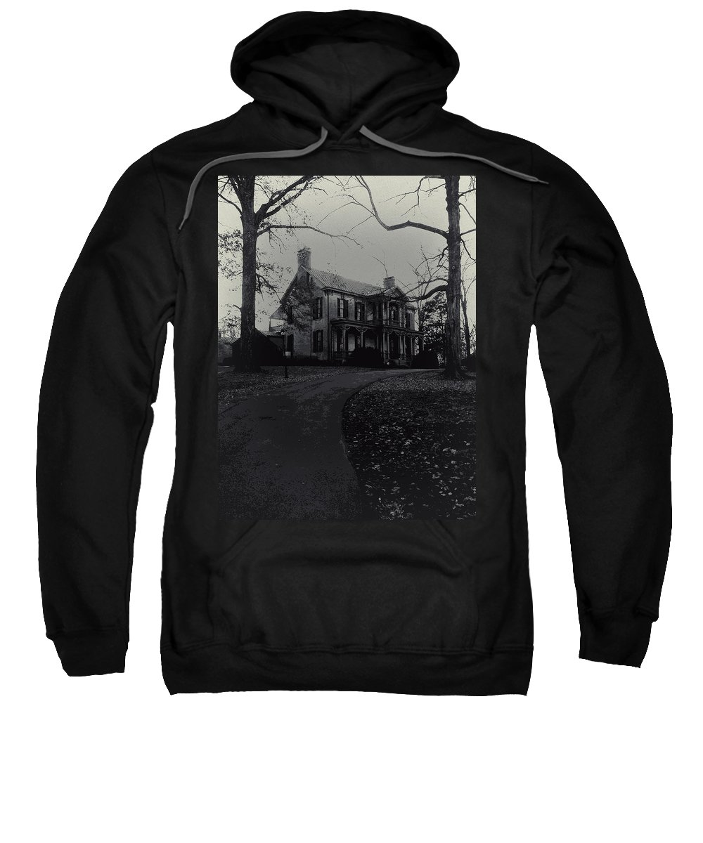 Mansions Sweatshirt featuring the photograph Deserted by Jim Markiewicz