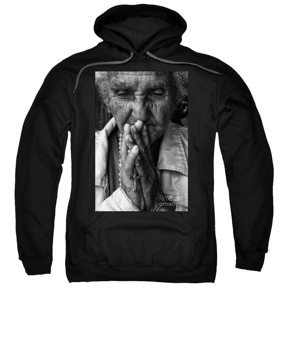 Devotion Sweatshirt featuring the photograph Devoted by Bob Christopher