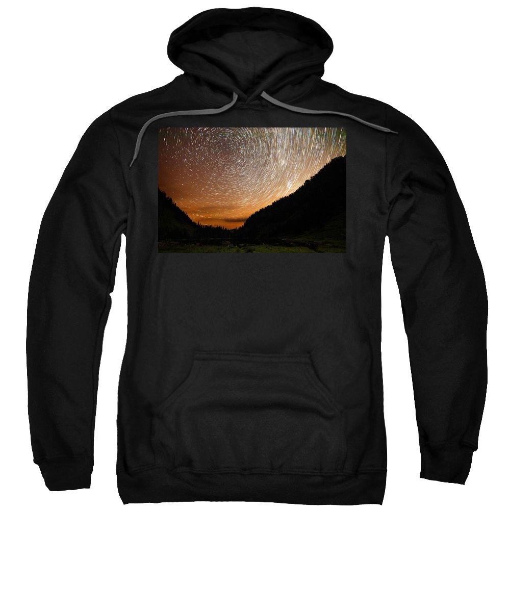 Landscape Sweatshirt featuring the photograph Dew by Ryan McGinnis
