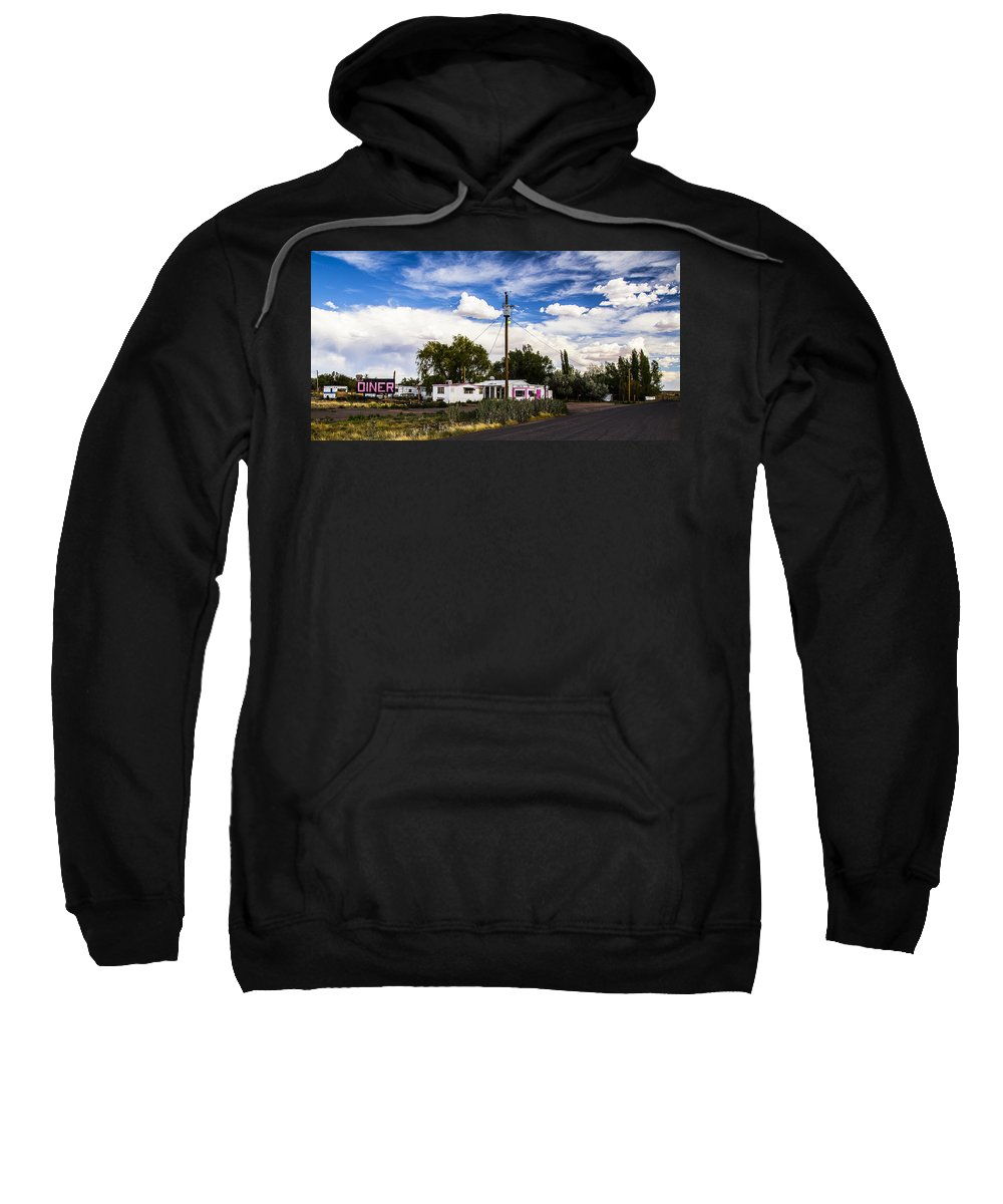 Route 66 Sweatshirt featuring the photograph Diner by Angus Hooper Iii
