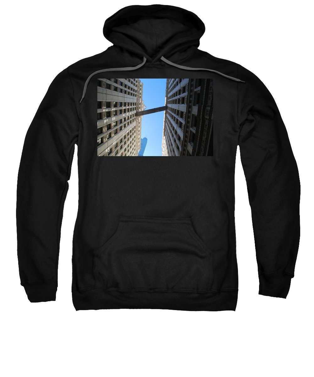 Building Sweatshirt featuring the photograph Dizzy by Richard Bryce and Family