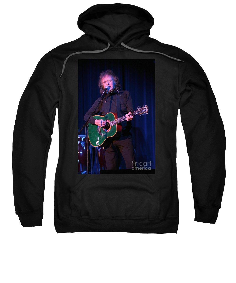 Donovan Sweatshirt featuring the photograph Donovan by Concert Photos