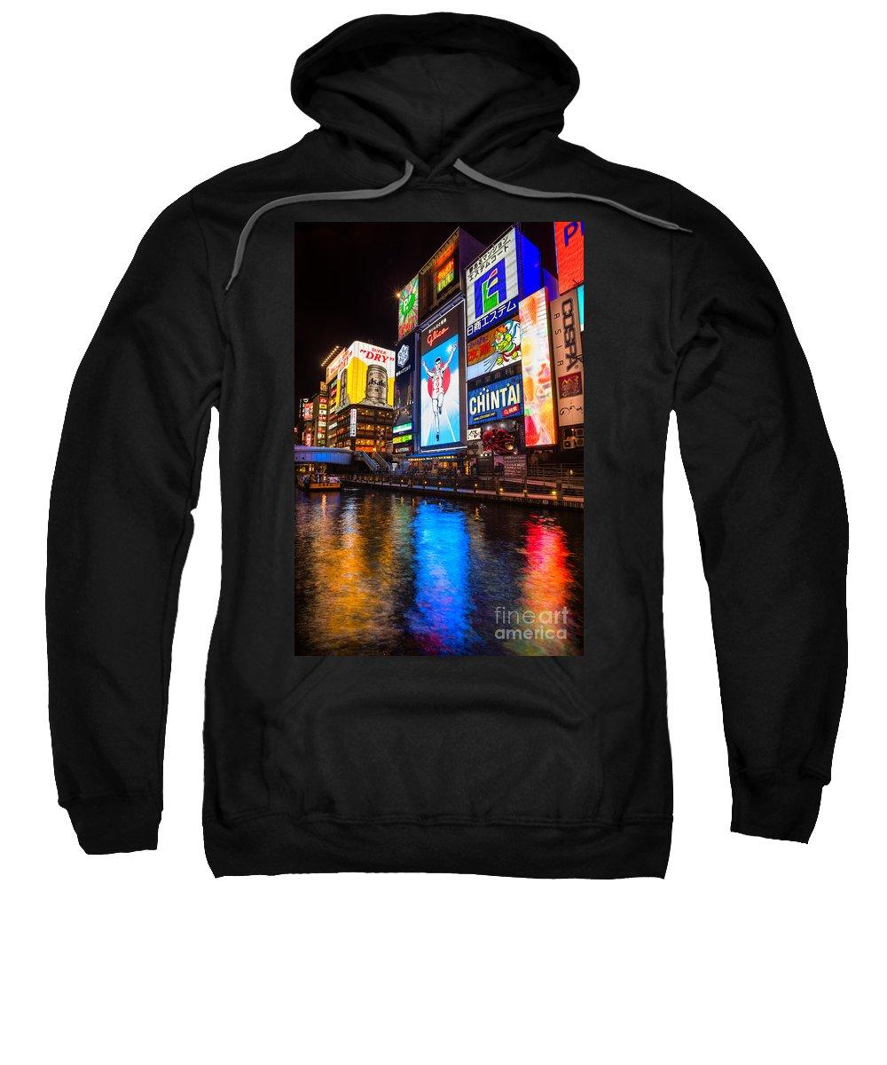 3c1ddd1558fa5 Dotonbori District - Osaka - Japan Sweatshirt
