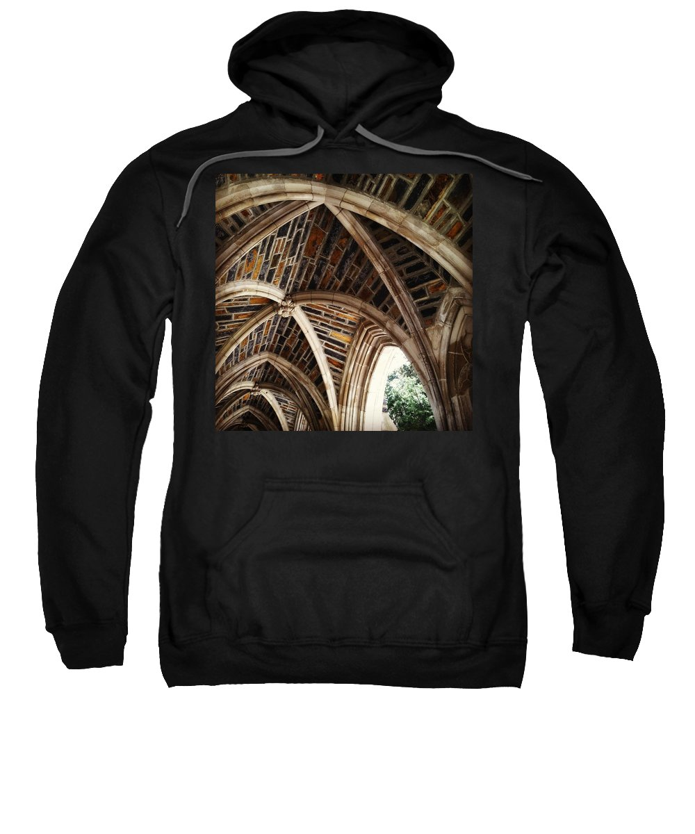 Arches Sweatshirt featuring the photograph Duke Arches by Jana Nyberg