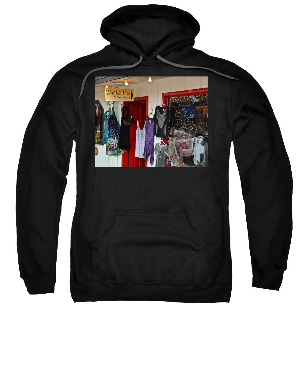 Deja Vu Sweatshirt featuring the photograph Eclectic Boutique by Frozen in Time Fine Art Photography