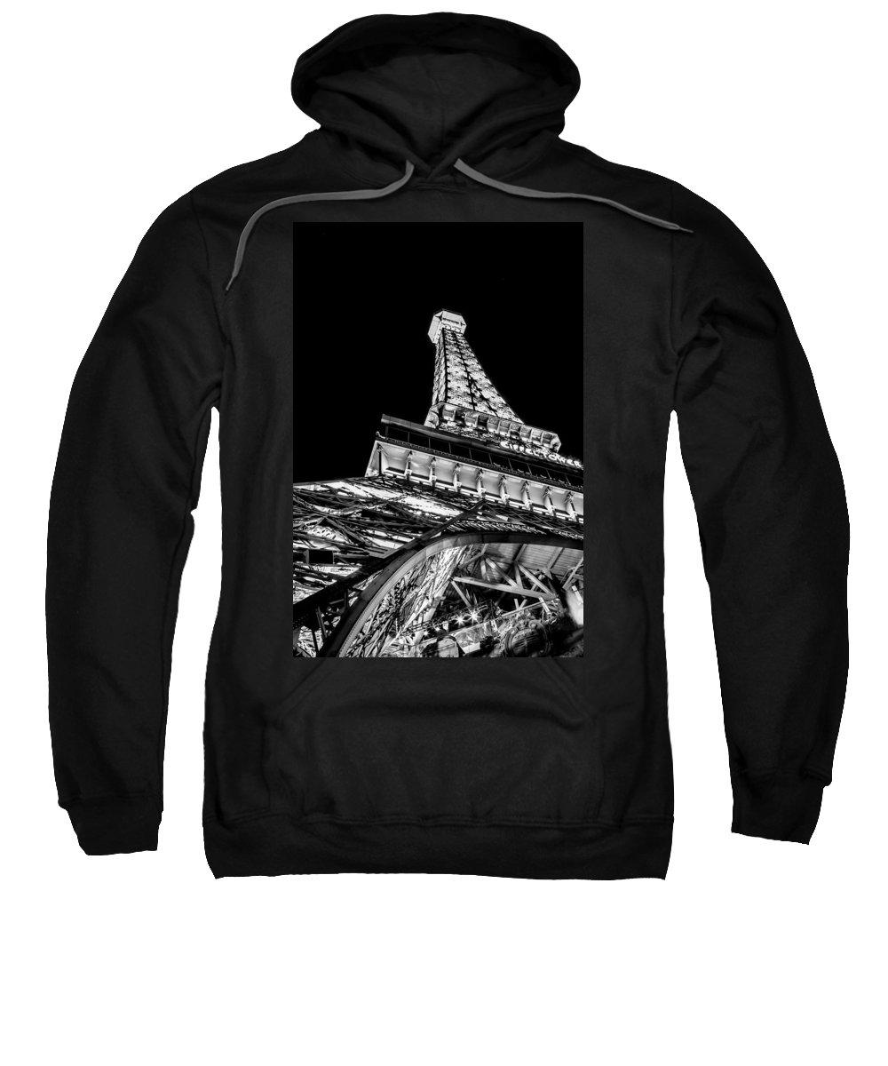 Eiffel Tower Sweatshirt featuring the photograph Industrial Romance by Az Jackson