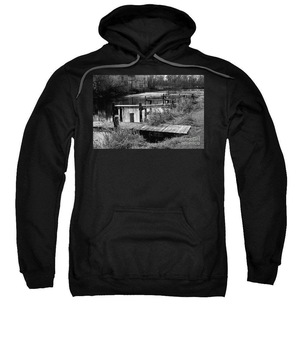 Penn Yan Sweatshirt featuring the photograph End Of Season by William Norton
