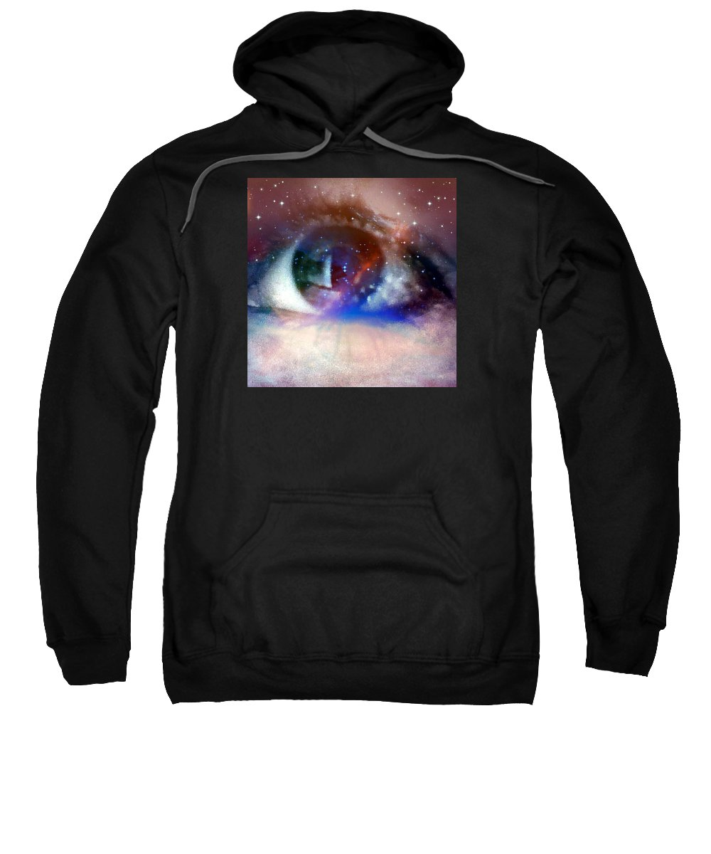 Abstract Sweatshirt featuring the photograph Enlightened by Amy-Elizabeth Toomey