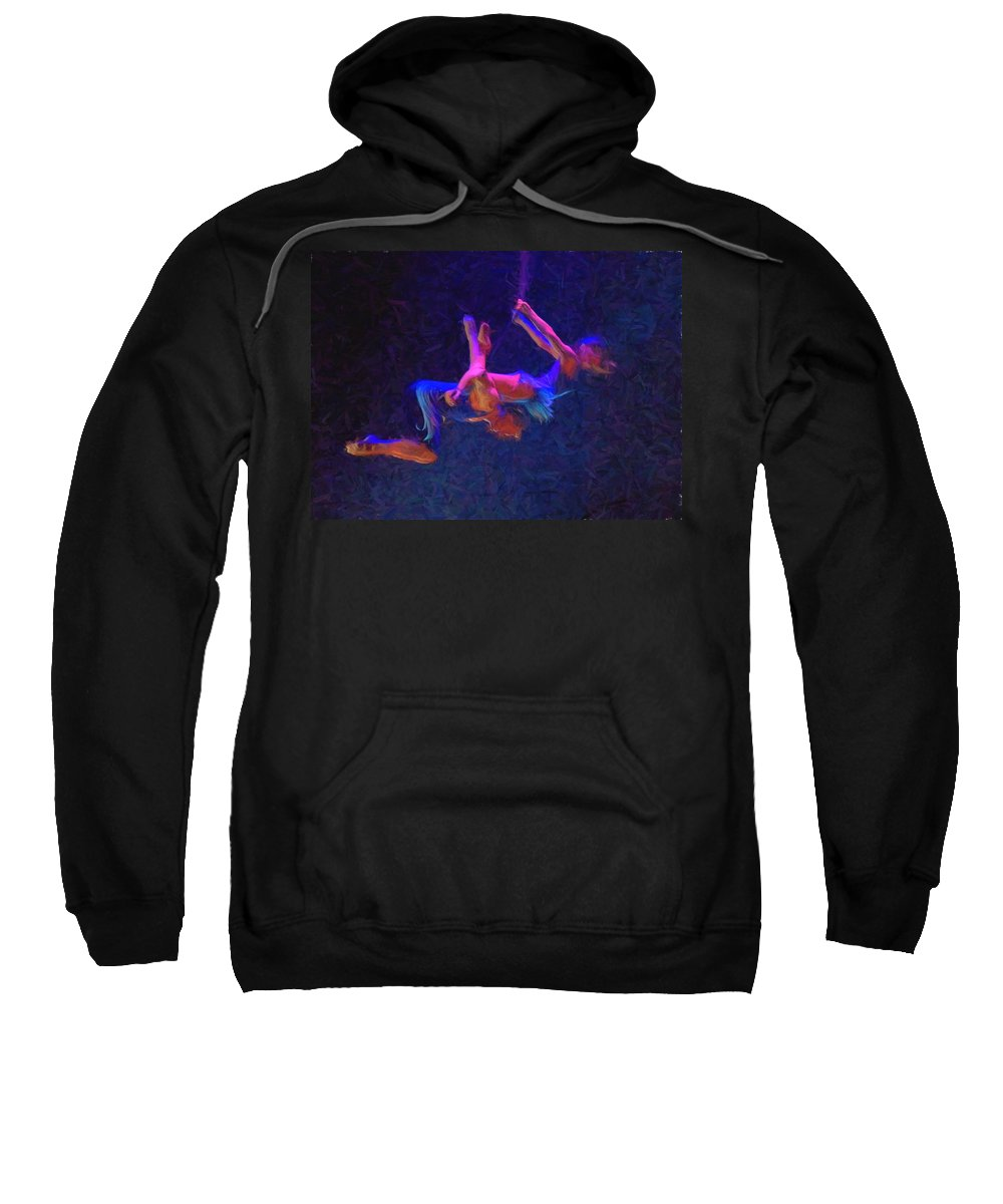 Circus Acts Sweatshirt featuring the photograph Entwines by Alice Gipson