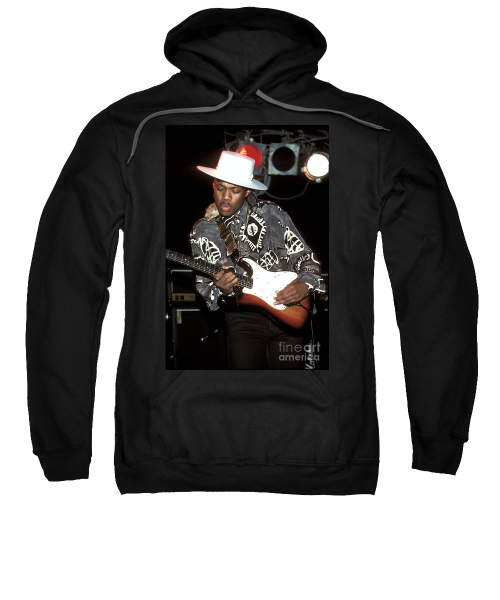 Eric Gales Sweatshirt featuring the photograph Eric Gales by Concert Photos