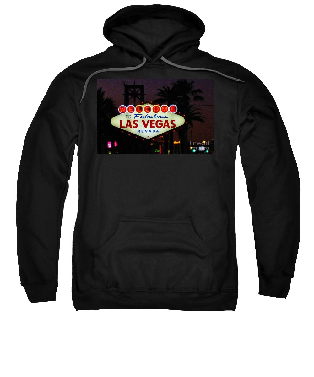 Las Vegas Sweatshirt featuring the photograph Fabulous Las Vegas by John Malone