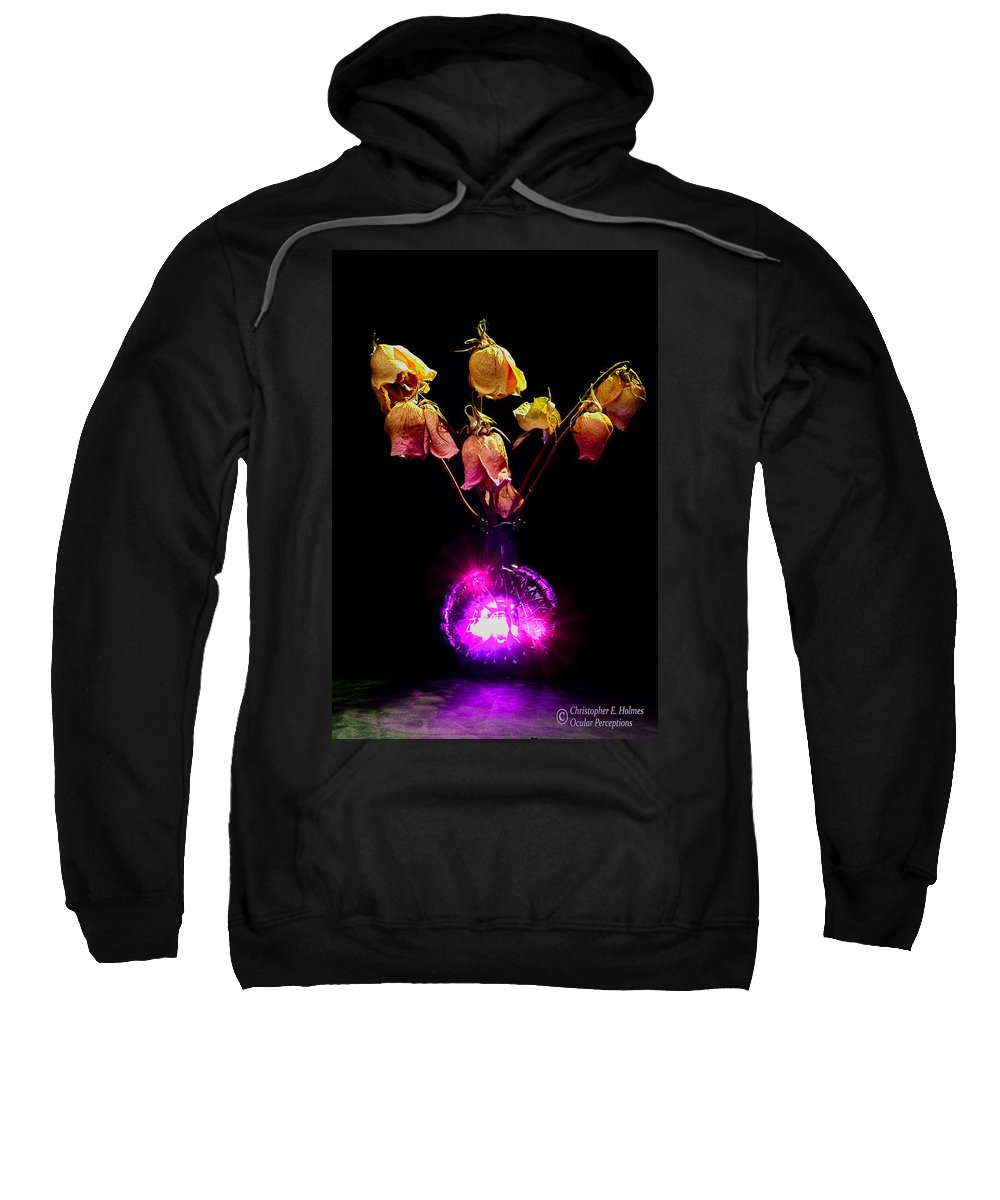 Christopher Holmes Photography Sweatshirt featuring the photograph Faded Memories by Christopher Holmes