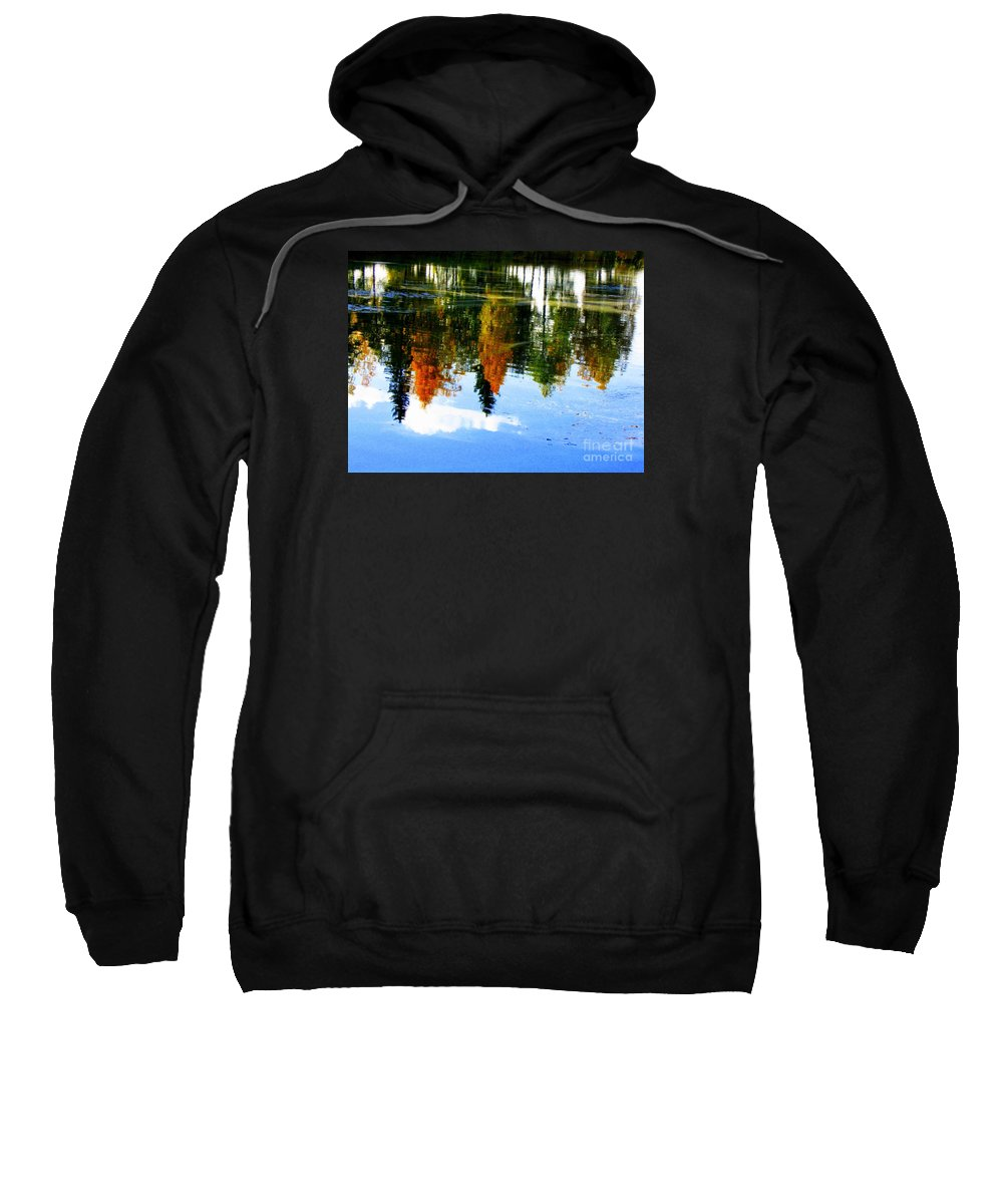 Autumn Canvas Prints Sweatshirt featuring the photograph Fall Colors by Pauli Hyvonen