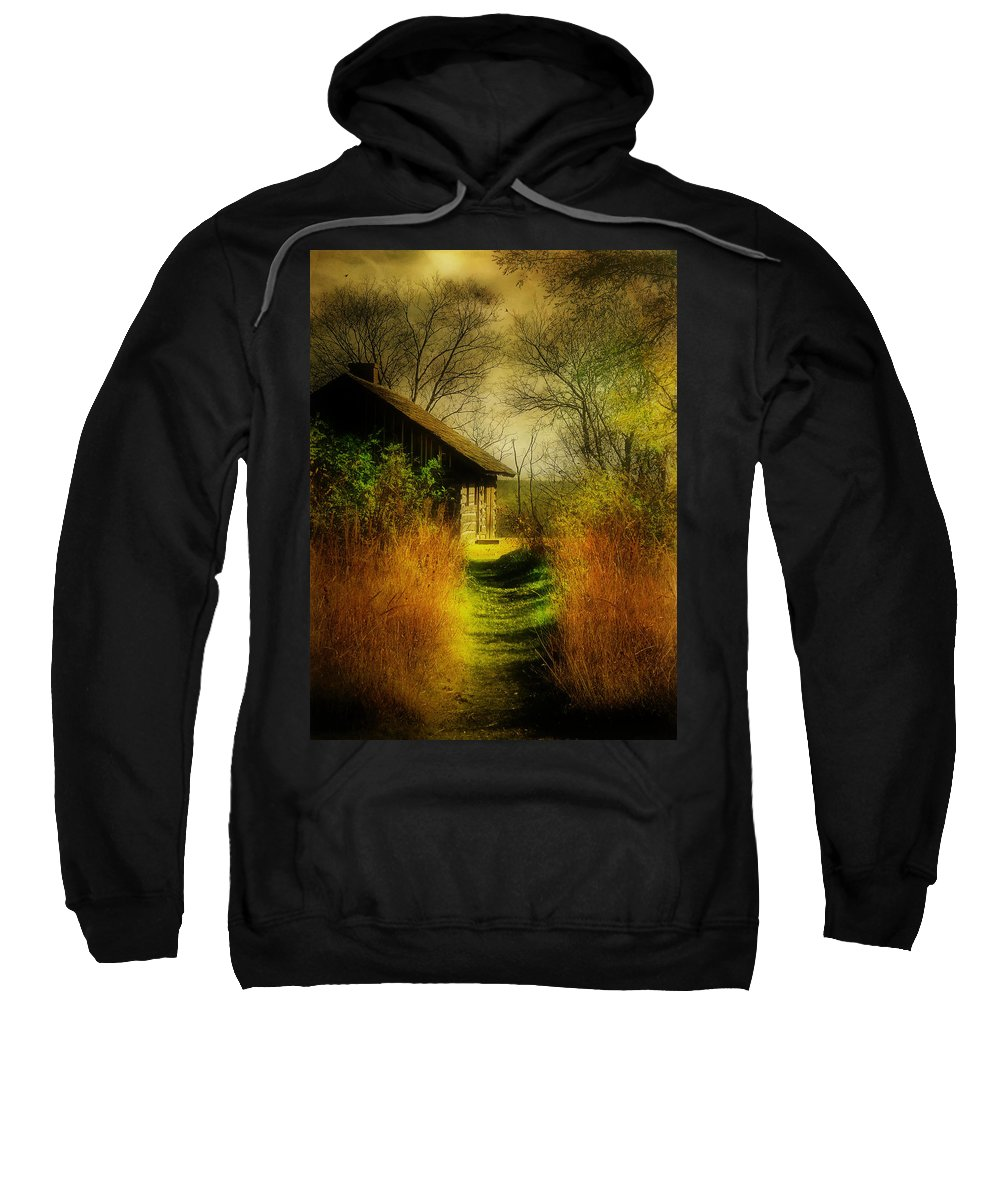 Landscape Sweatshirt featuring the photograph Far Away by John Anderson