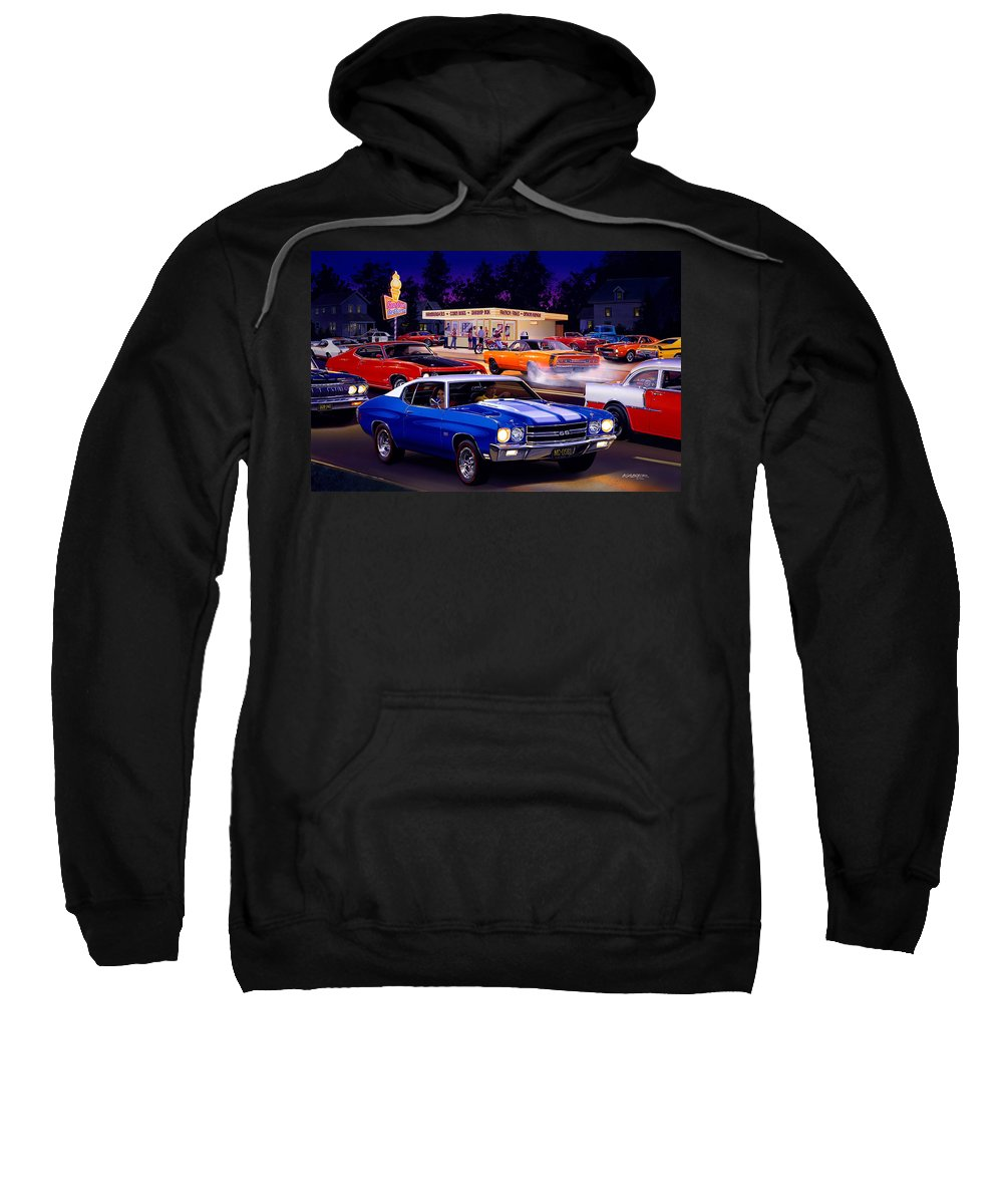 Ice Cream Stand Sweatshirt featuring the photograph Fast Freds by Bruce Kaiser