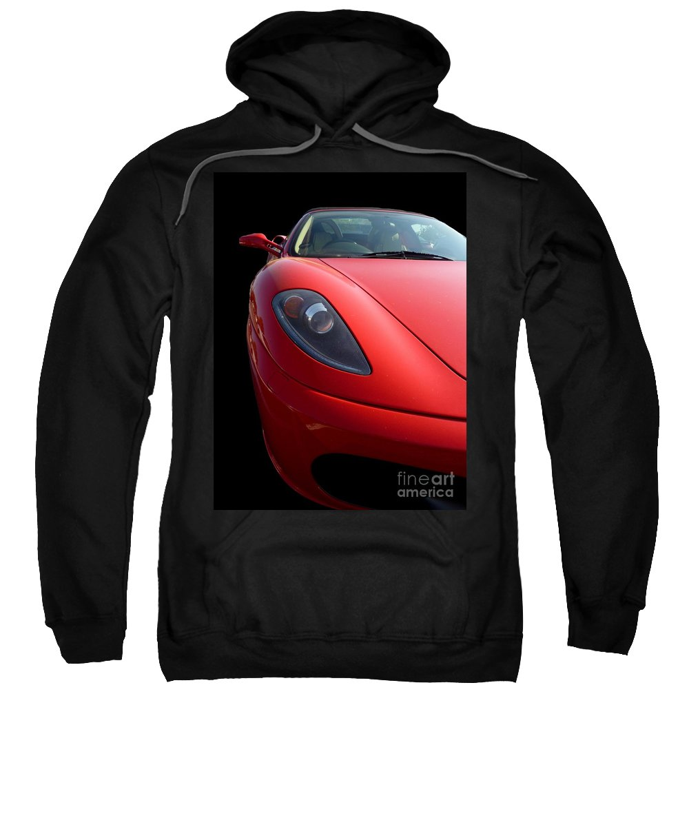 Ferrari Sweatshirt featuring the photograph Ferrari by Vicki Spindler