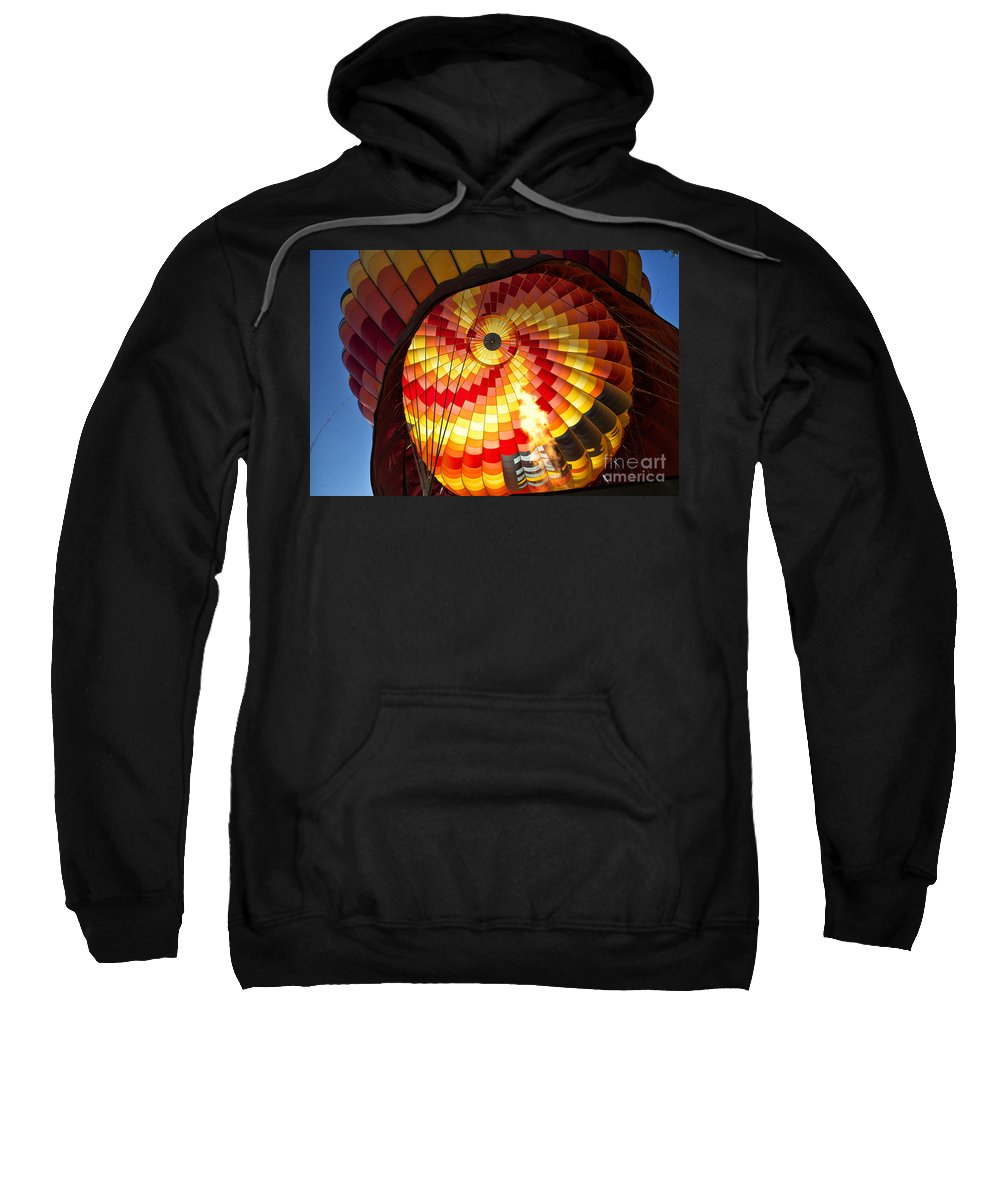 Sweatshirt featuring the photograph Fire In The Belly by Timothy Hacker