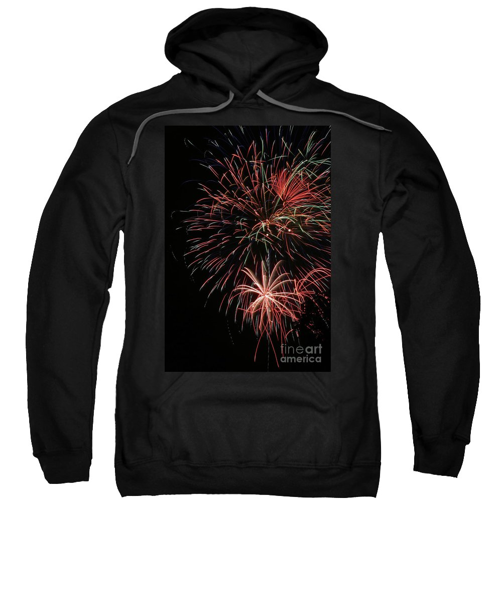 Firework Sweatshirt featuring the photograph Fireworks6525 by Gary Gingrich Galleries