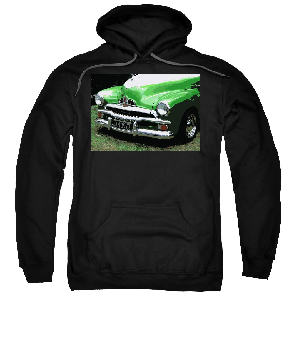 Holden Sweatshirt featuring the photograph Fj Holden by Guy Pettingell