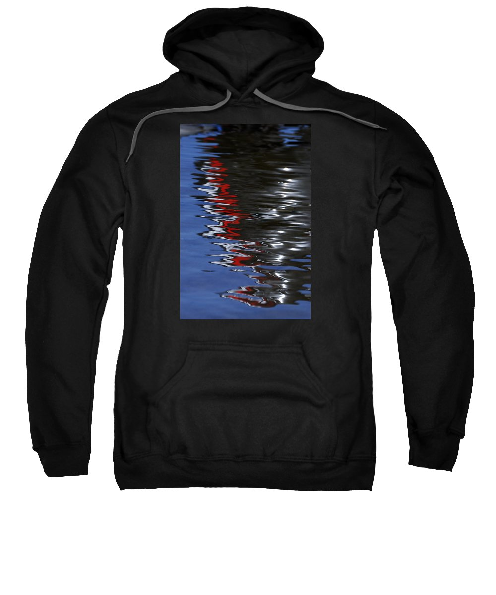 Wendy Wilton Sweatshirt featuring the photograph Floating On Blue 14 by Wendy Wilton