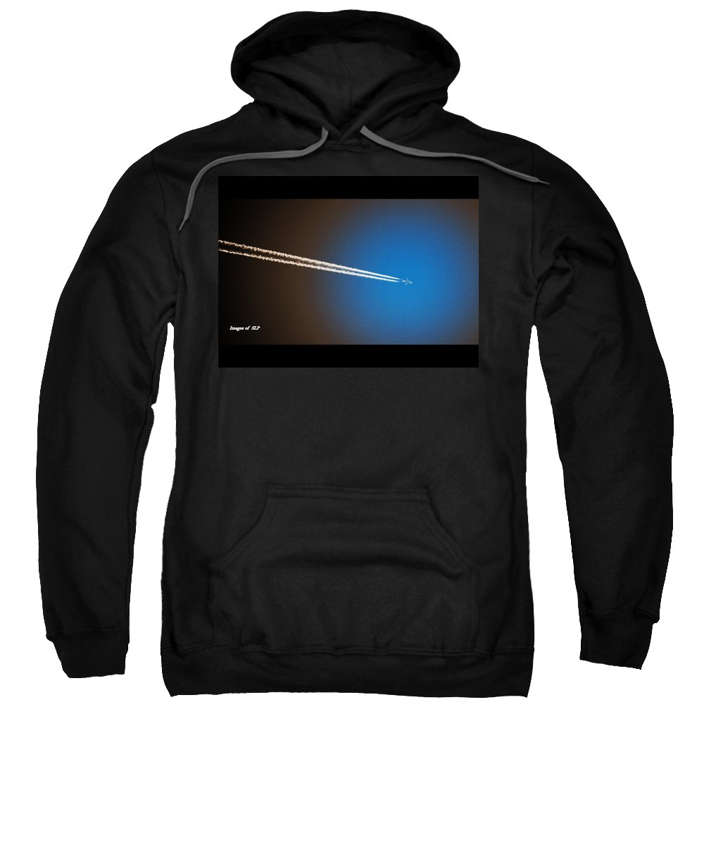 Flying Sweatshirt featuring the photograph Flying High by Scott Polley