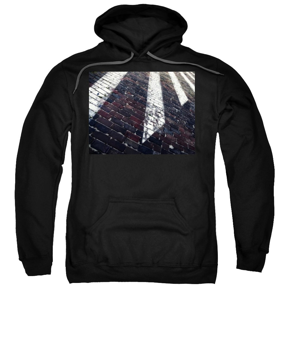 Photo Sweatshirt featuring the photograph Follow Me - Abstract Photography By Sharon Cummings by Sharon Cummings