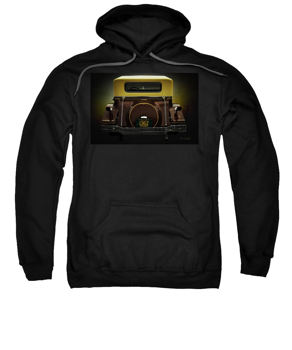 Ford Model A Cabriolet Sweatshirt featuring the photograph Ford Model A Cabriolet by Mary Machare