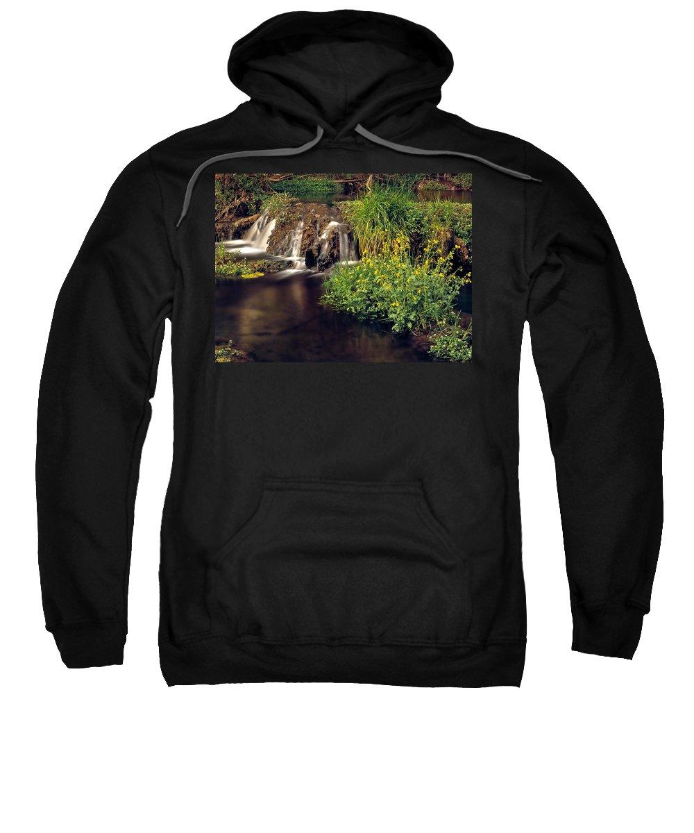 Arizona Sweatshirt featuring the photograph Fossil Creek by Leland D Howard