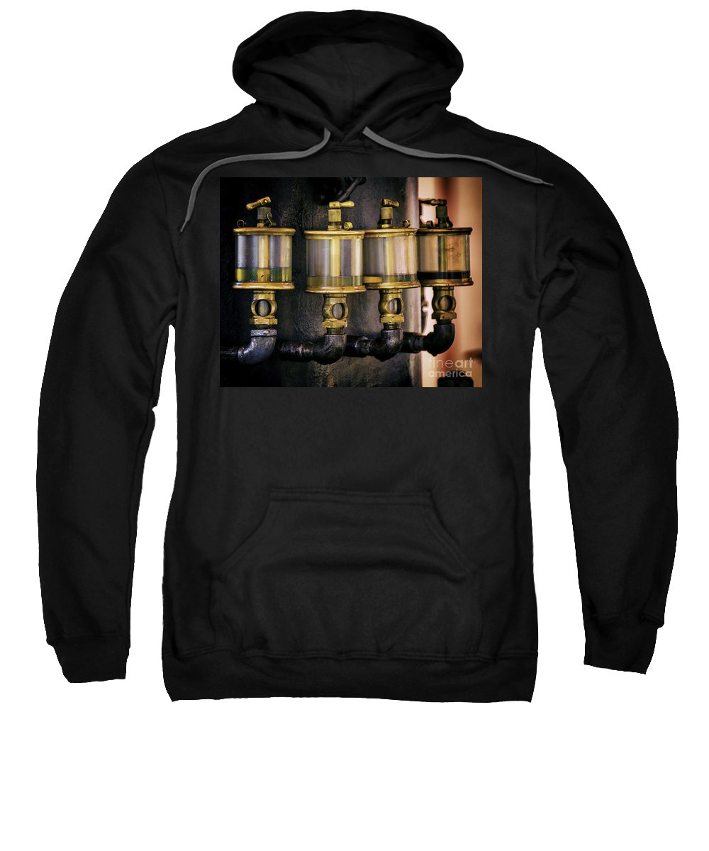 Engine Sweatshirt featuring the photograph Four Degrees Of Separation by Joe Geraci