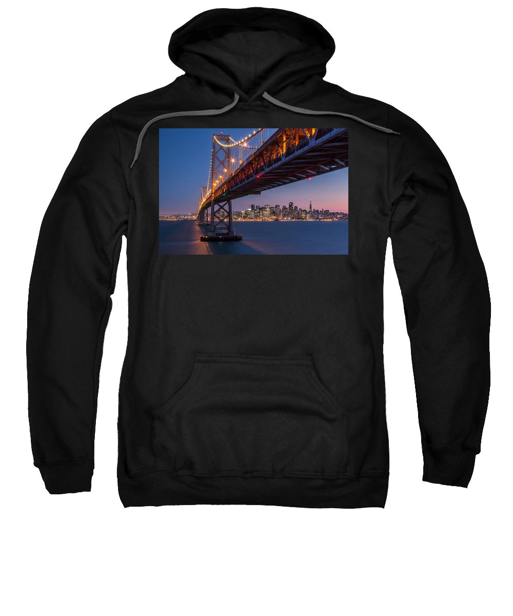 Horizontal Sweatshirt featuring the photograph Framing San Francisco by Mihai Andritoiu