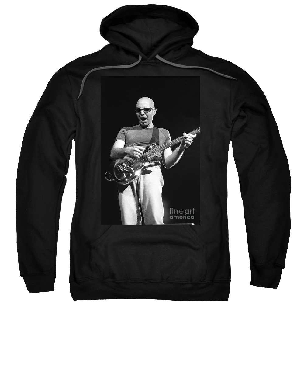 Guitarist Sweatshirt featuring the photograph G3 by Concert Photos