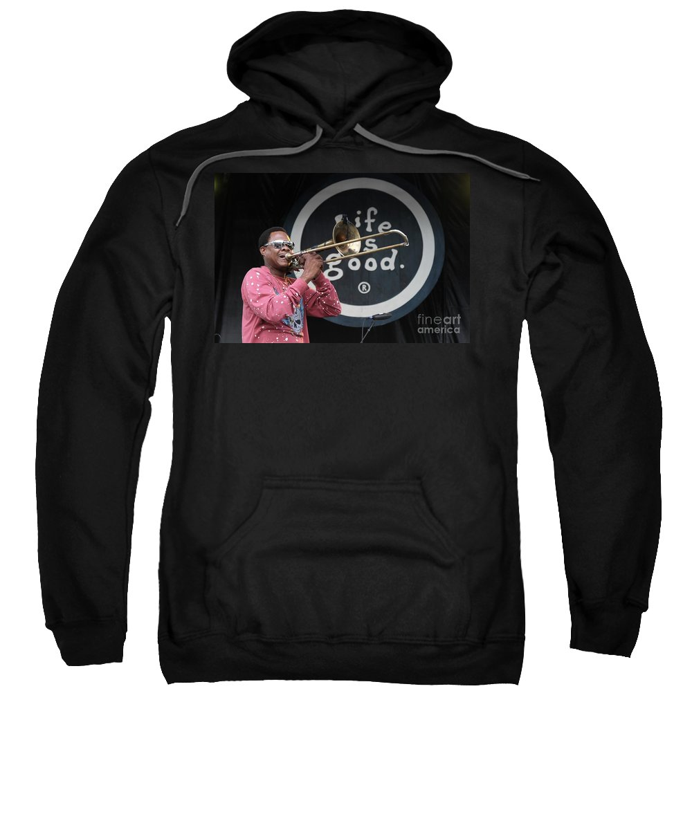 Galactic Sweatshirt featuring the photograph Galactic by Concert Photos