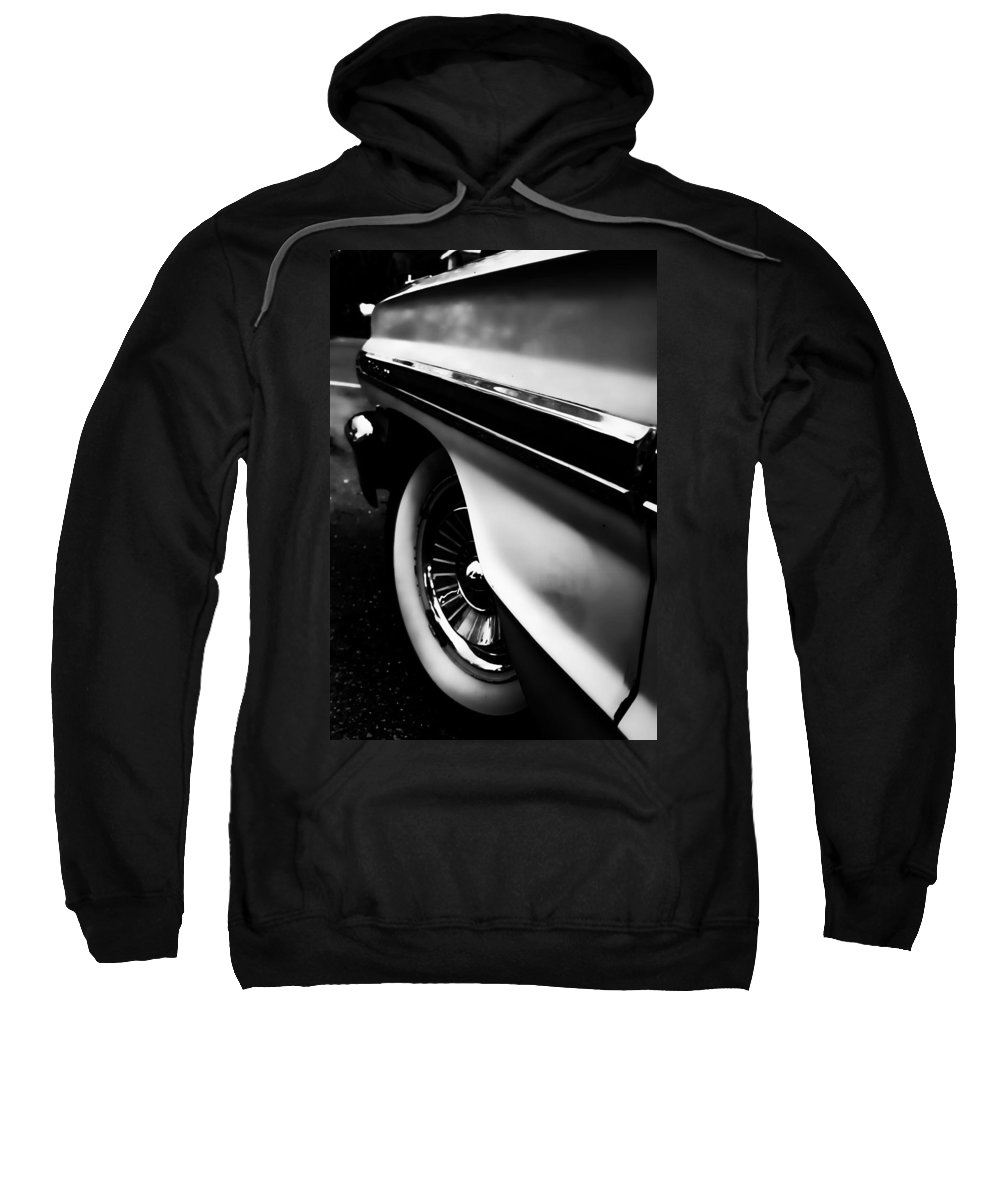 American Classic Cars Sweatshirt featuring the photograph Galaxy 500 by Digital Kulprits