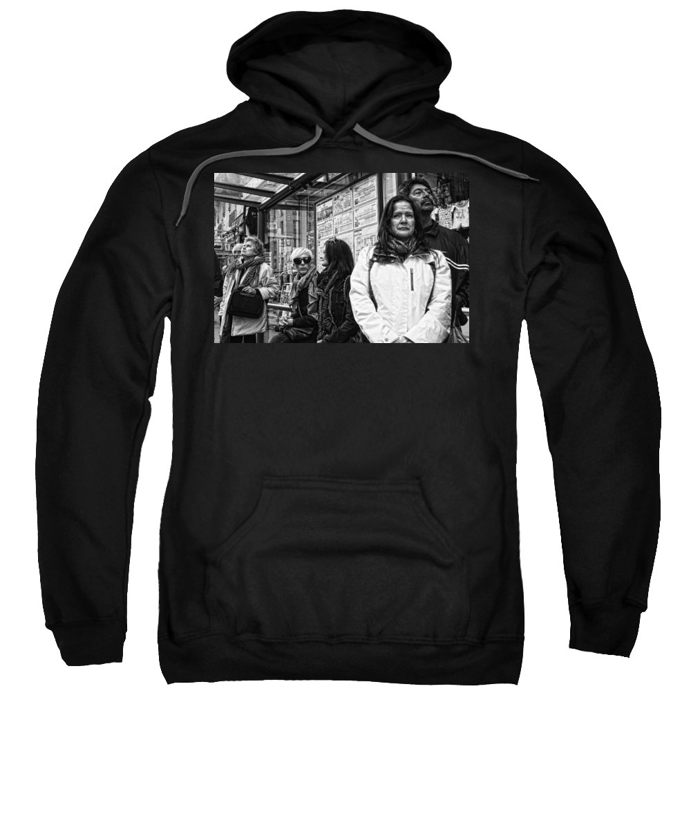 Paris Sweatshirt featuring the photograph Gazes And Looks by Hugh Smith